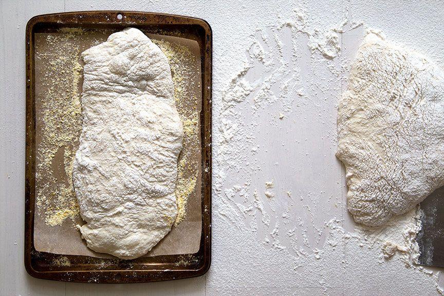 рецепт хлеба чиабата
