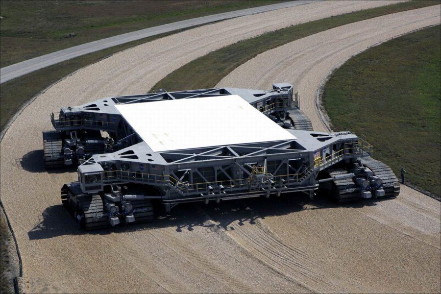 Гусеничный транспортер НАСА1