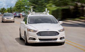 Ford создаст машину без руля и педалей