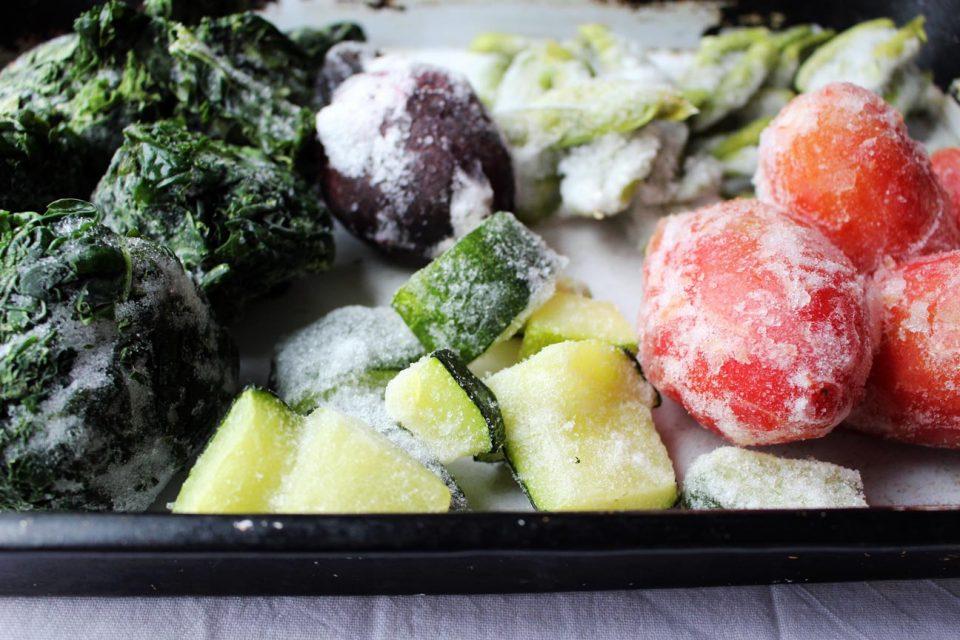 Как замораживать овощи, фрукты и остальные продукты