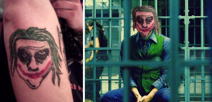 татуировки прикол