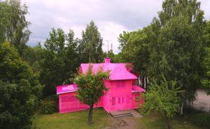 Дом обвязанный крючком agata olek