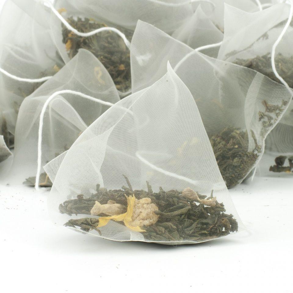 пакетики зеленого чая