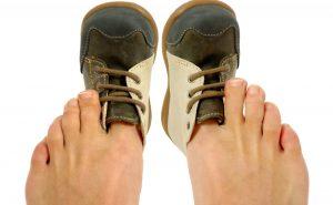 Как быстро разносить обувь?