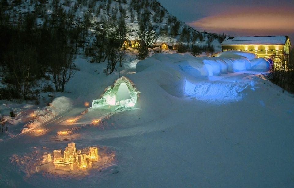 Отель «Kirkenes Snow hotel», Норвегия