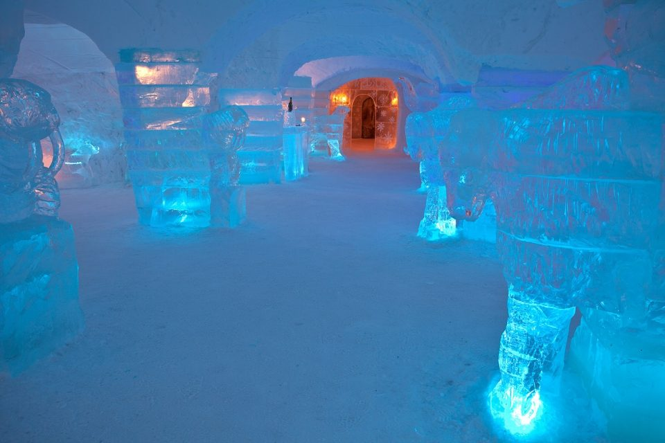 Отель «Sorrisniva Igloo», Норвегия