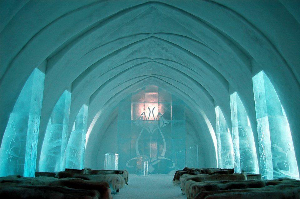 Отель «Icehotel», Швеция