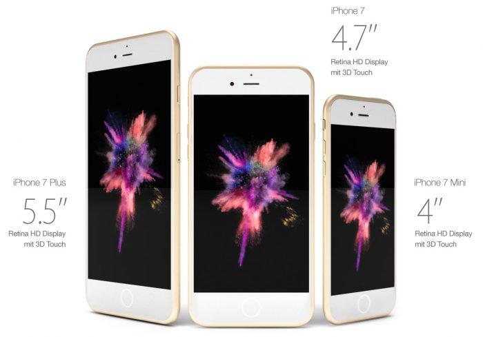Весной 2017 появится iPhone 7 mini
