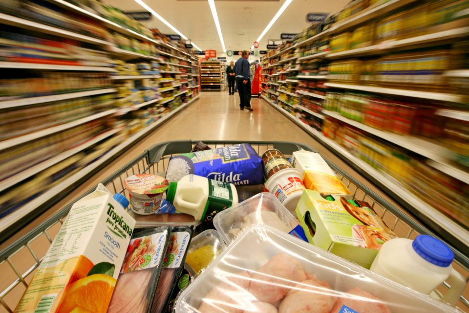 supermarket food consumption study