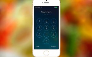 пароль на айфон