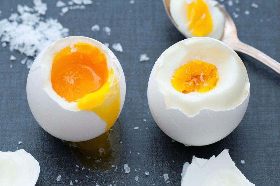 сваренные яйца