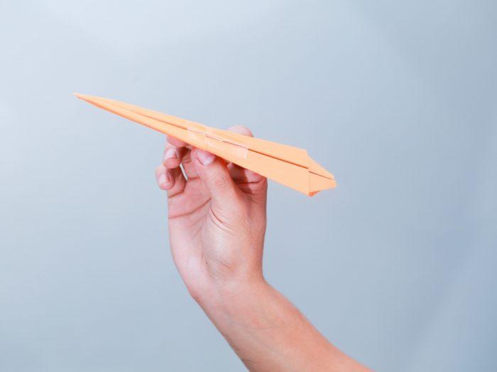Как сделать самолет из бумаги? 7 простых схем