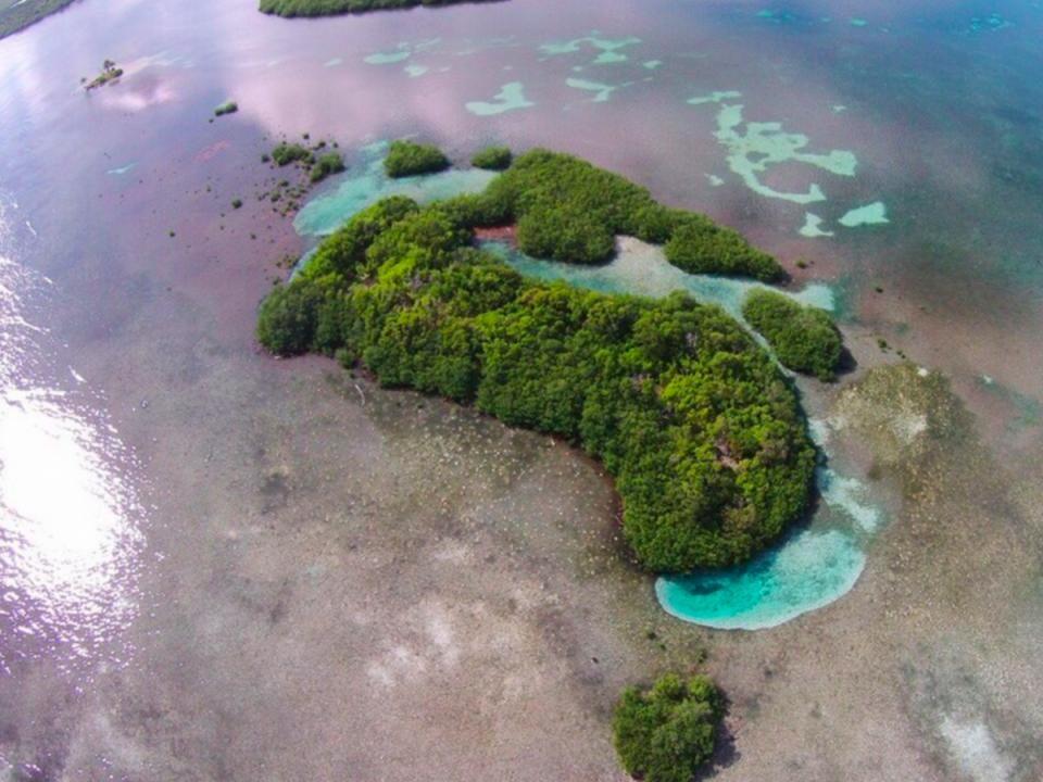 Остров у берегов Белиза