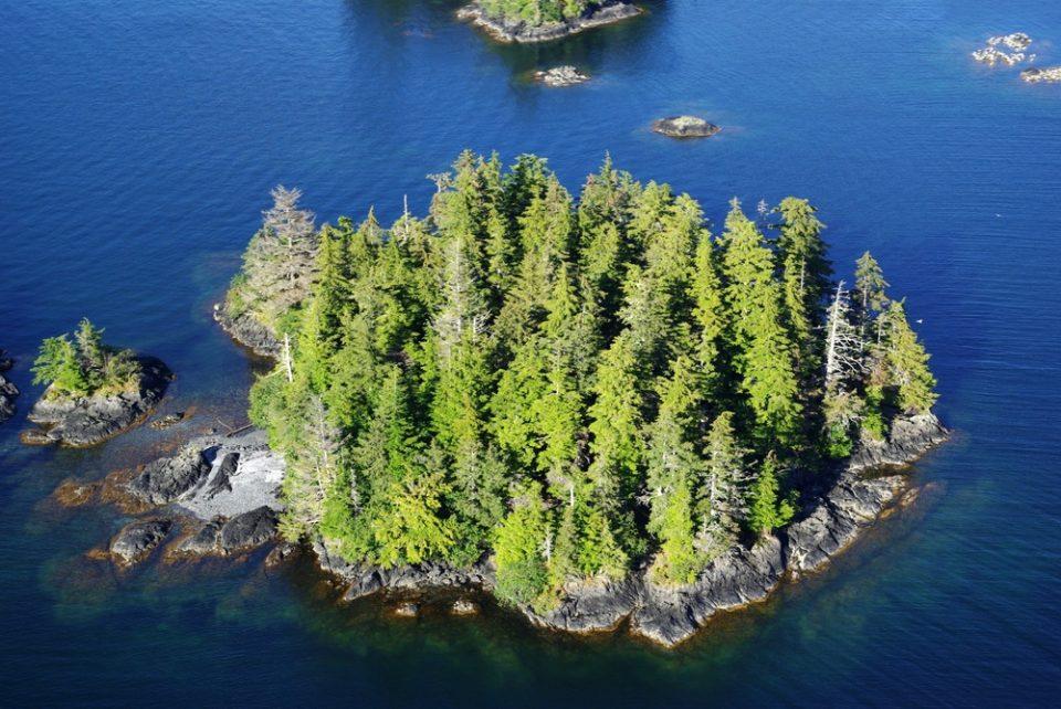 Остров близ Аляски