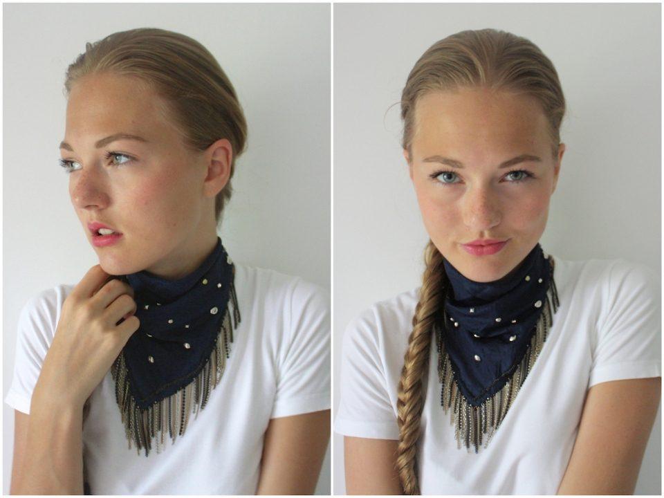 ковбойский завязать платок на шее