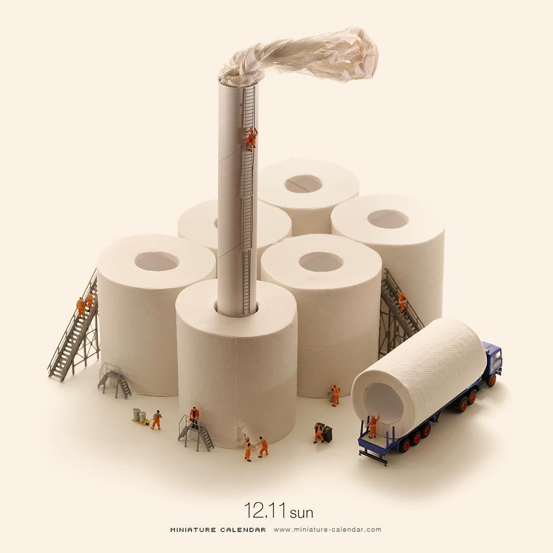 Мини-завод по переработке туалетной бумаги