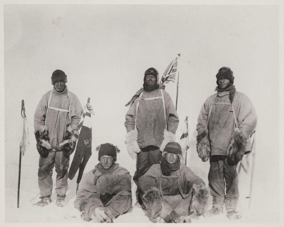 На Южном полюсе