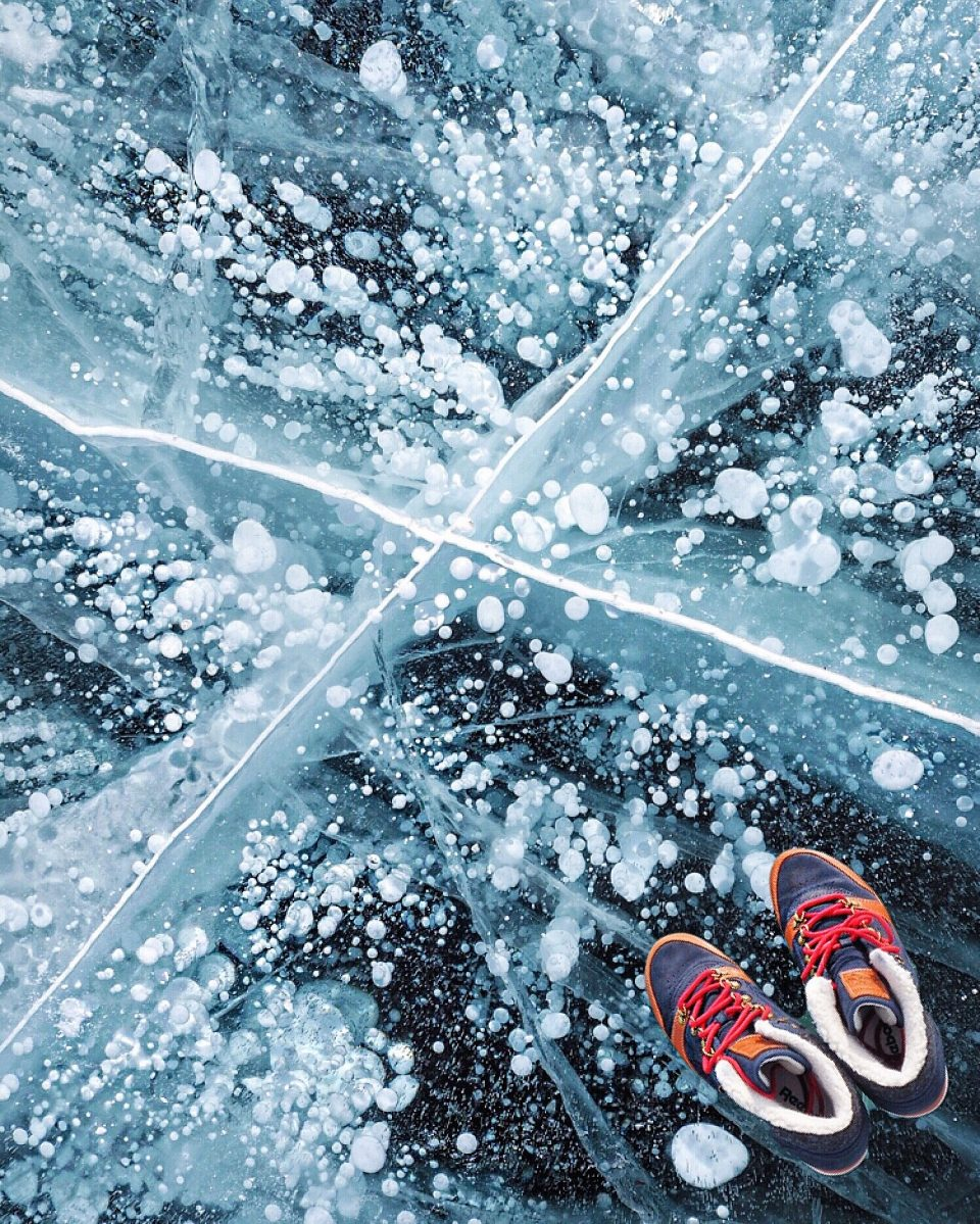 Байкал зимой