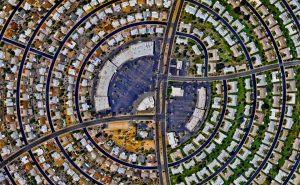 Солнечный город Сан сити, штат Аризона, США