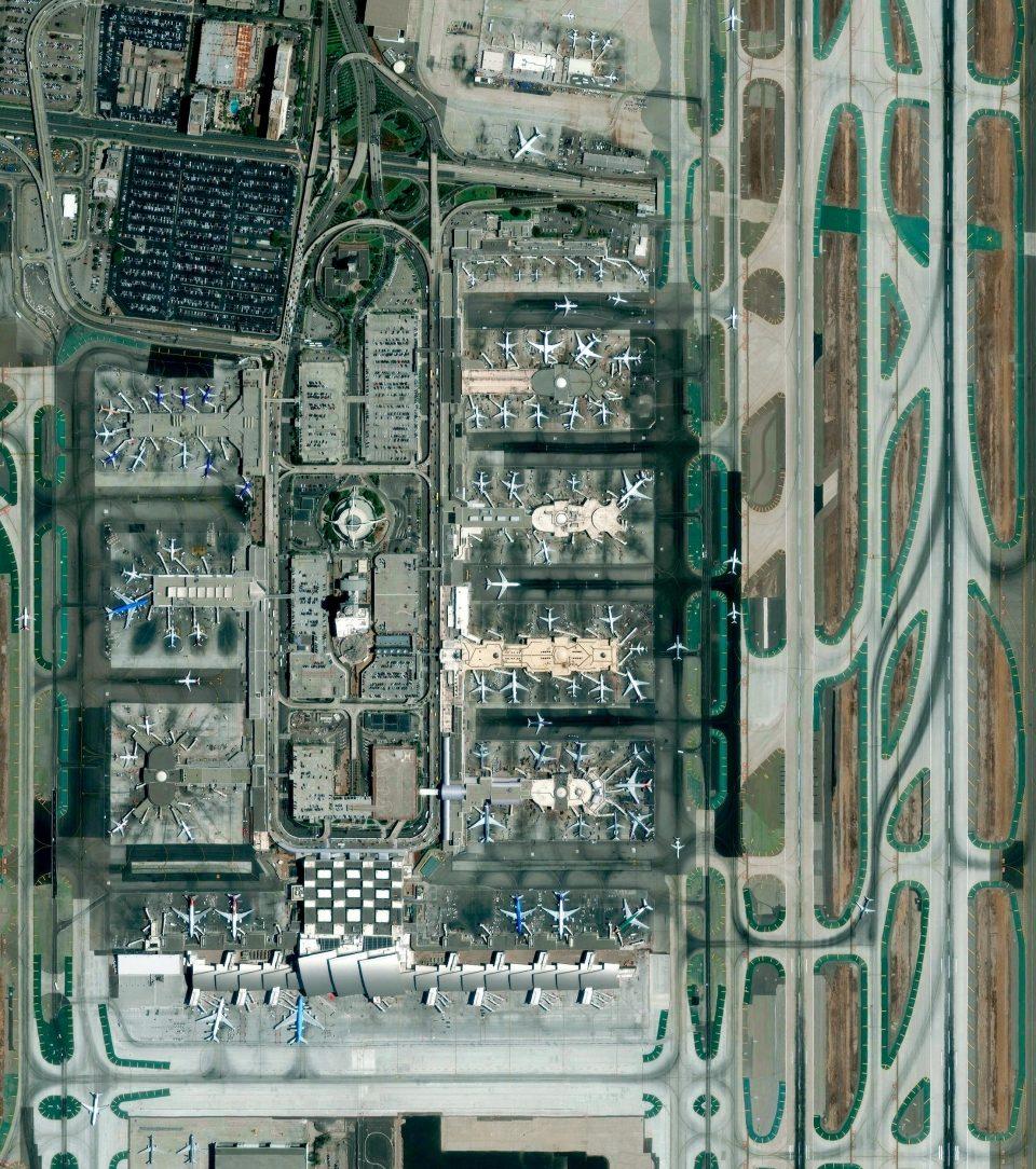 Международный аэропорт Лос-Анджелес Лос-Анджелес, Калифорния, США