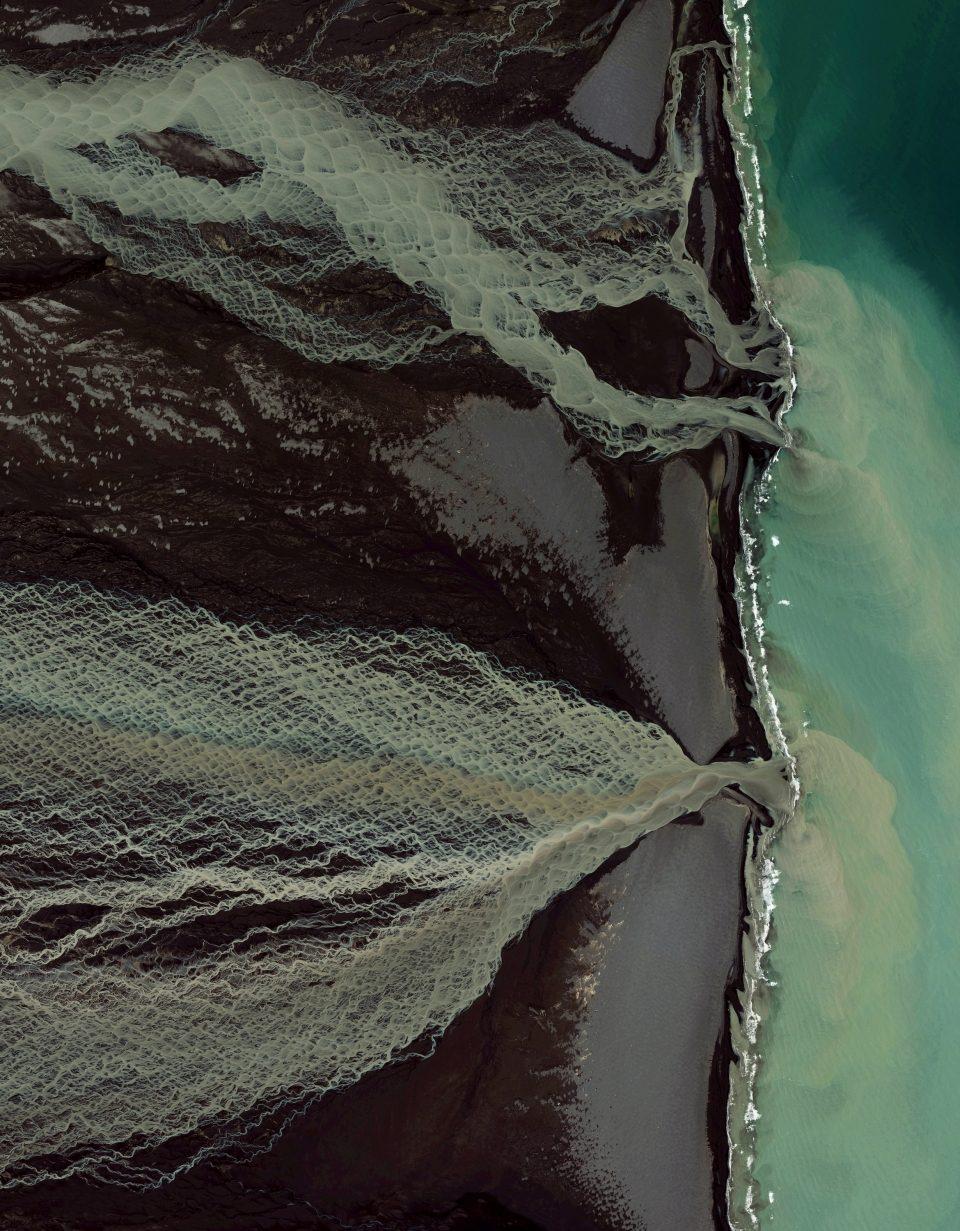 Таяние ледников Скейдарау, Исландия