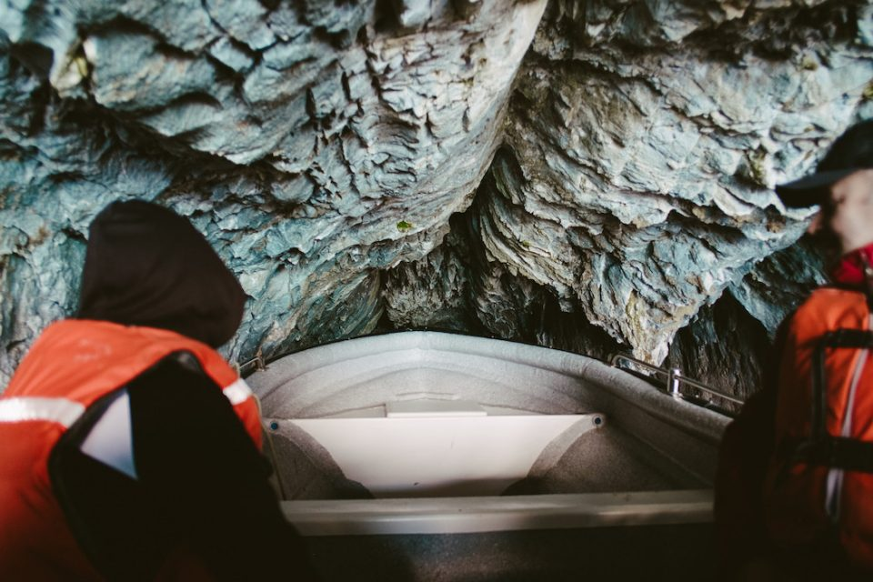Мраморные пещеры Чили