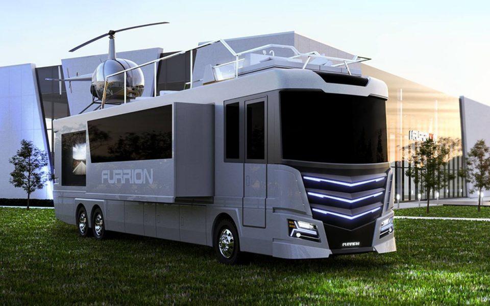 Elysium RV — роскошный дом на колесах