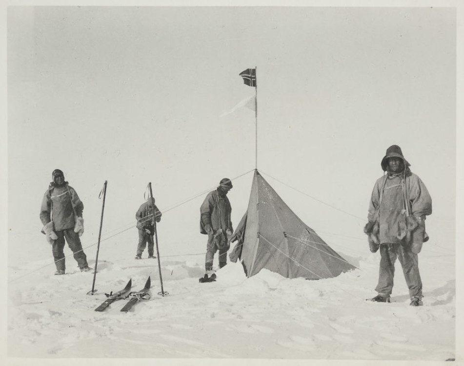Палатка Амундсена