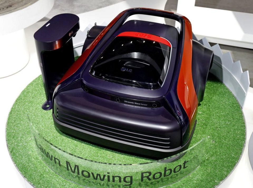 Газонокосилка LG Lawn Mowing
