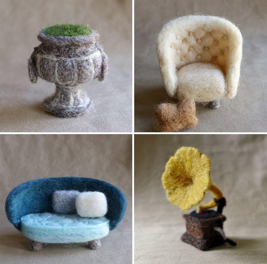Войлочная мебель