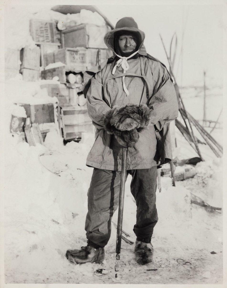 Эдгар Эванс в возрасте 35 лет. Фото было сделано Гербертом Понтингом.