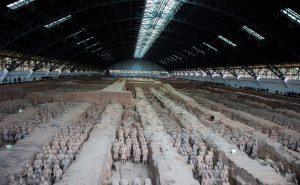 Гробница первого императора династии Цинь, Китай