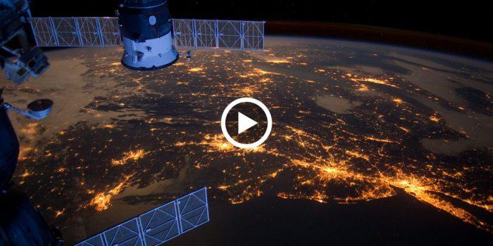 Уникальное видео из космоса — рассвет над Землей