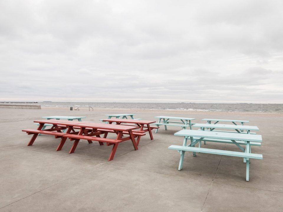 заброшенный техногенный пляж