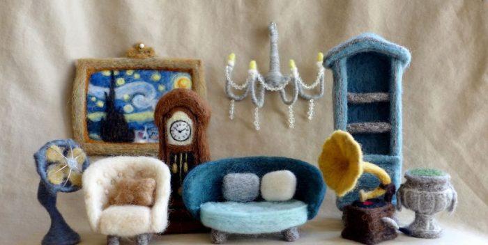 Войлочная мебель — модный тренд в дизайне интерьеров