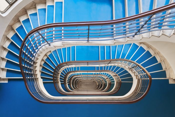Винтовые лестницы — иллюзия бесконечности