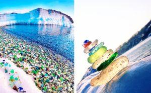 стеклянный пляж