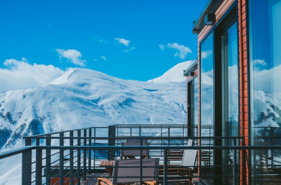 Отель «Quadrum» в горах грузии