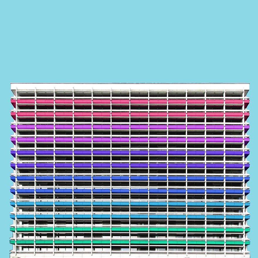 здания в Фотошопе