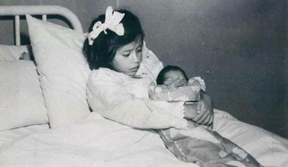девочка Лина из Перу, которая родила в 5 лет