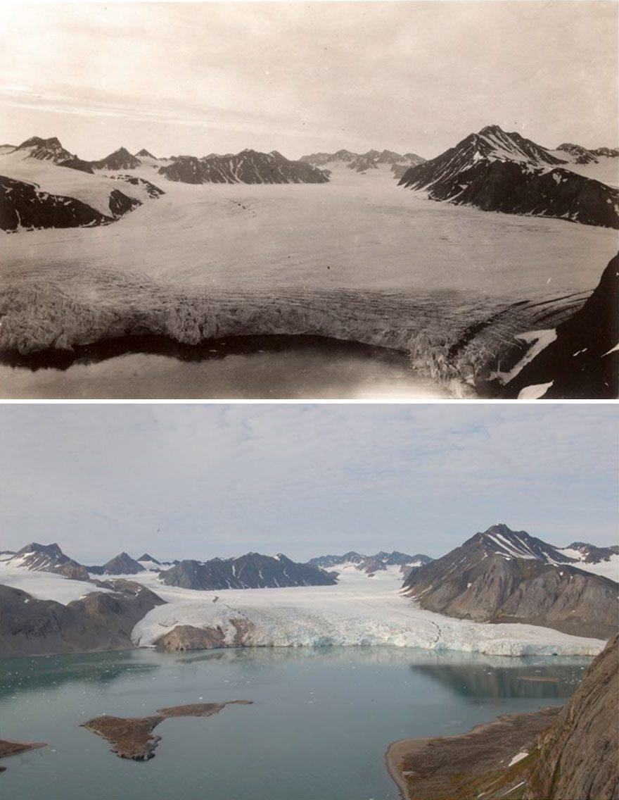 ледники таят