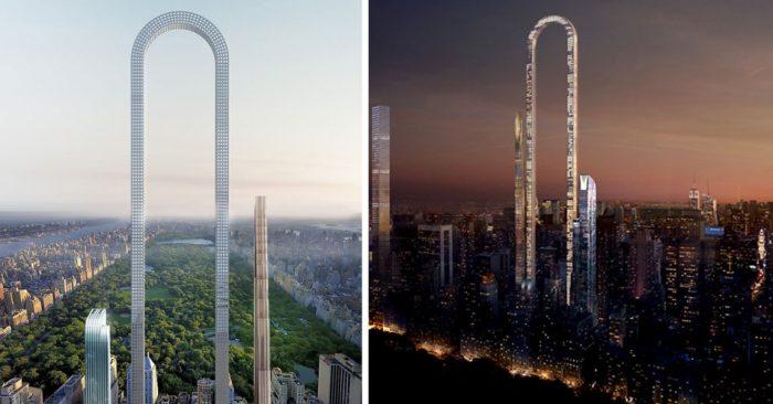 Невероятный U-образный небоскреб в Нью-Йорке станет самым «длинным» зданием в мире