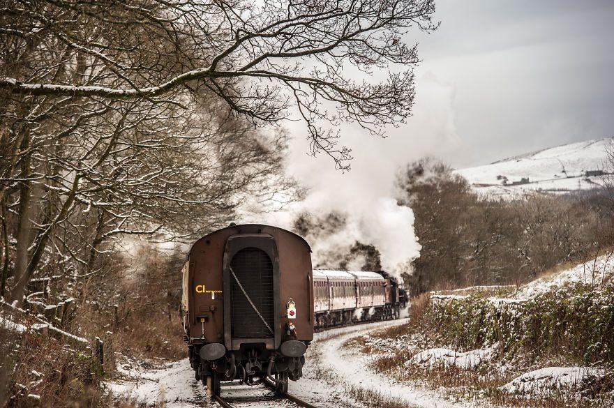 Пар, туман, снег — обещание уникального путешествия!