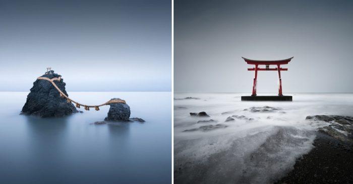 Я провел три недели в Японии, фотографируя места духовности в стиле модернизма