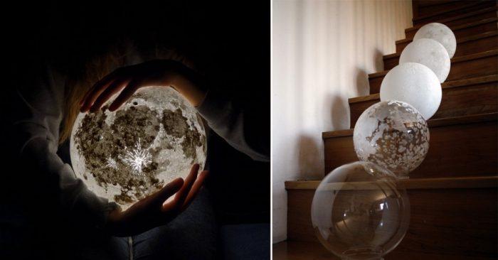 Светильники «Луна» и «Планеты» сделают вашу комнату космической