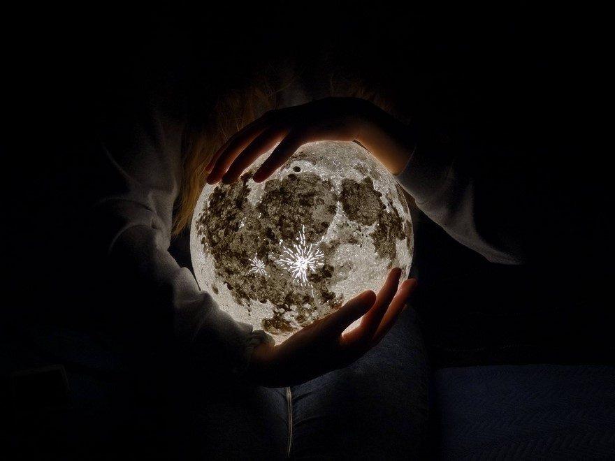 светильник своими руками