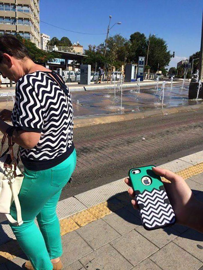 Эта женщина или чехол для iPhone