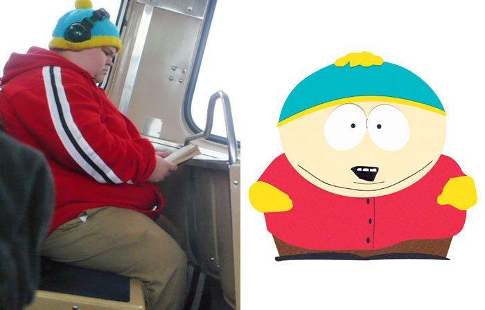 Этот парень в автобусе или Эрик Картман