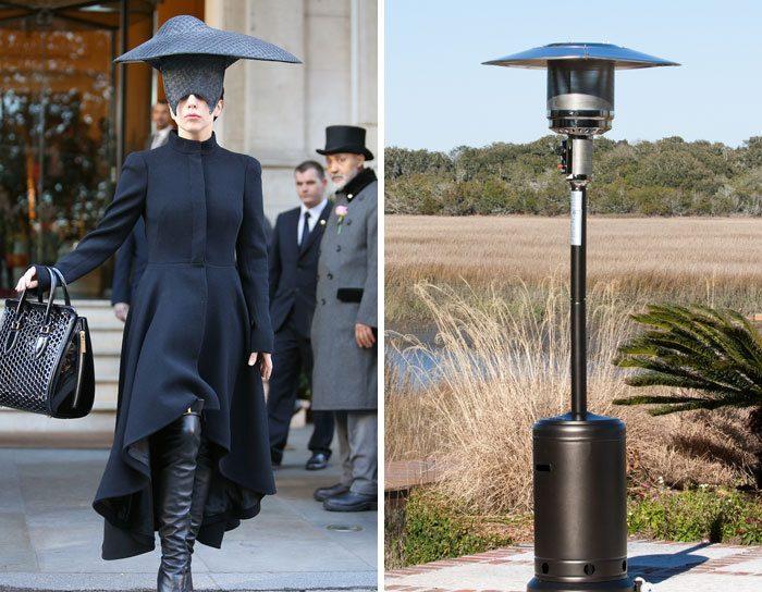 Леди Гага или светильник для внутреннего дворика
