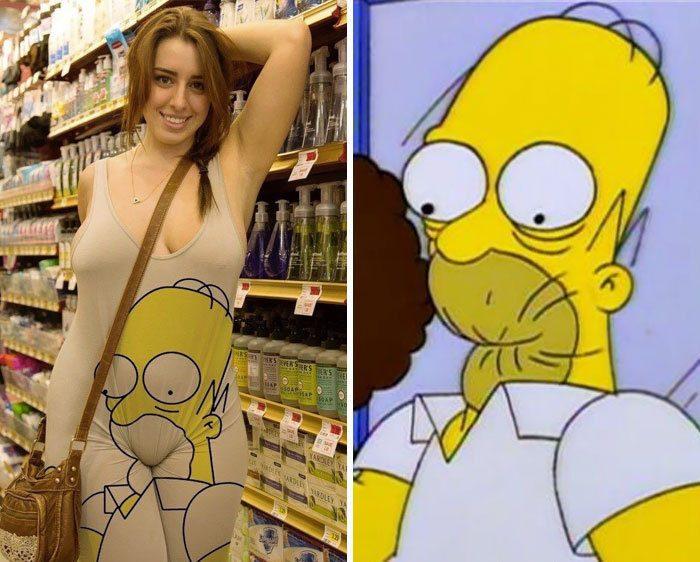 Гомер, ты ли это